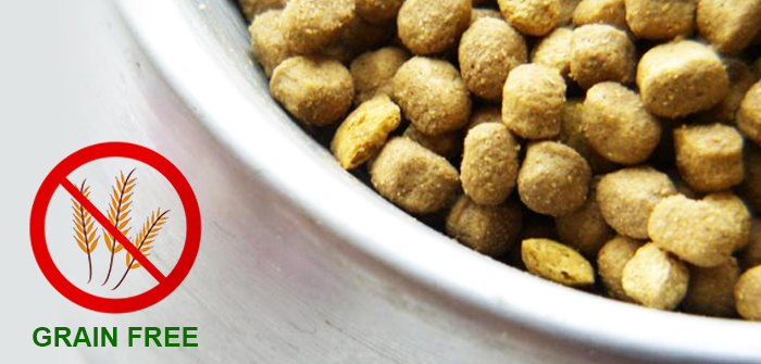Grain Free Food Ideal for Pets? – Just Cross Check!