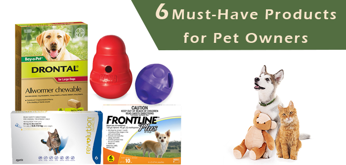 6 Must-Have Products for Pet Owners