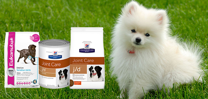 Dog Food Supplements for Better Mobility, Joint Health and Arthritis Pain